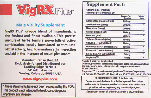 vigrxplus_supplement_facts