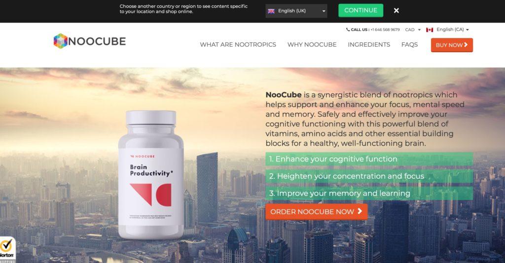 noocube official website canada