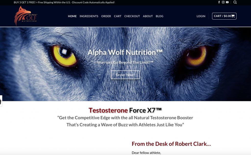 alpha wolf force x7
