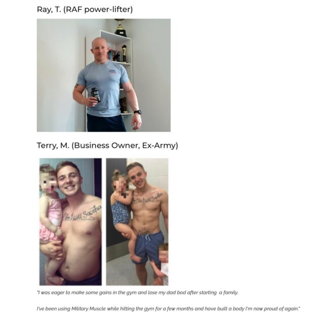 military muscle user reviews